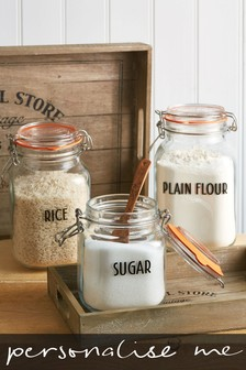 10 Pack Personalised Storage Jar Labels