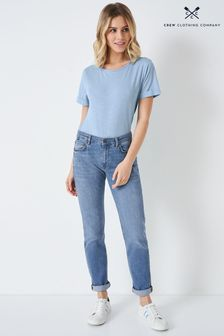 Crew Clothing Blue Straight Jeans