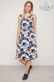 Seasalt Blue Quick Sketch Dress