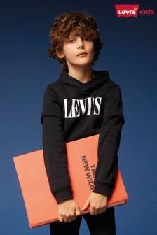 Levi's® Kids Black Vintage Logo Hoody