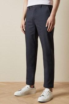 Ted Baker Safe Slim Fit Semi Plain Trousers