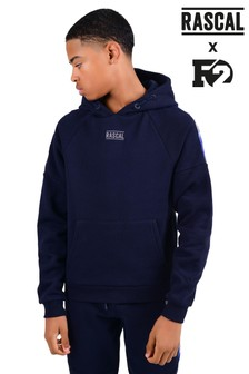 Rascal F2 Blue Gradient Tape Hoody