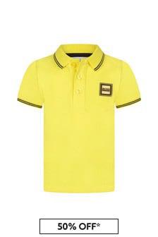 Boss Kidswear Boys Cotton Polo Shirt