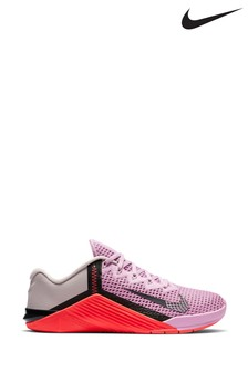 Nike Train Pink/Black Metcon 6 Trainers