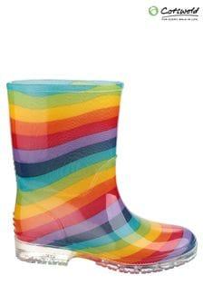 Cotswold Clear PVC Jnr Wellington Boots