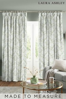 Laura Ashley Parterre Sage Made to Measure Curtains