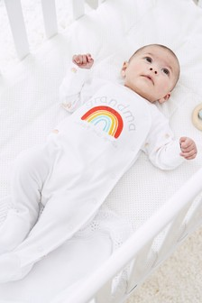 Rainbow Sleepsuit (0-18mths)