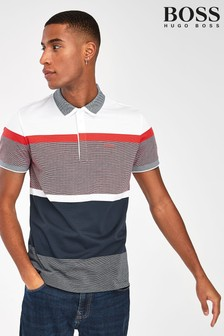 BOSS Paddy 4 Striped Poloshirt
