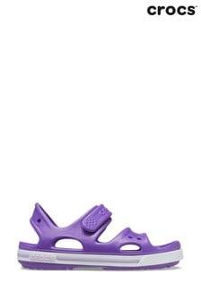 Crocs Purple Kids Crocband ll Touch Fastening Sandals