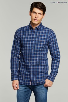Tommy Hilfiger Slim Fit Prince Of Wales Shirt