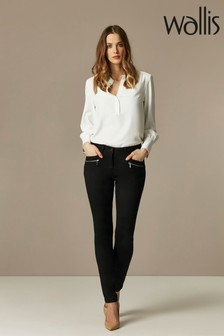 Wallis Black Skinny Fit Jeggings