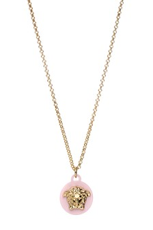 Girls Gold Logo Necklace