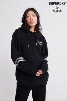 Superdry Tiger Nights Sparkle Oversized Hoody