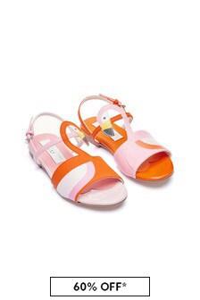 Girls Red Sandals