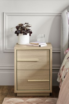 Camille 2 Drawer Bedside