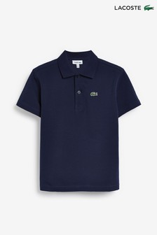 Lacoste® Kids Ribbed Poloshirt