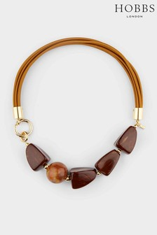 Hobbs Brown Olive Necklace