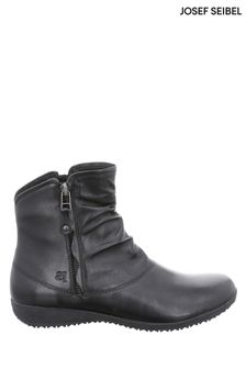 Josef Seibel Black Naly Ankle Boots