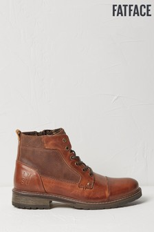 FatFace Brown Abbot Lace Up Boots