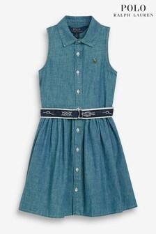 Ralph Lauren Indigo Dress