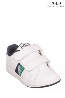 Ralph Lauren White Ormond Trainers