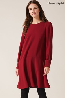 Phase Eight Red Lara Swing Dress
