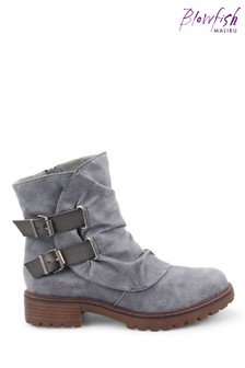 Blowfish Bluefin Rigley4Earth Recycled Plastic Ankle Boots
