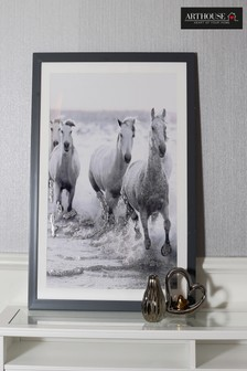Wild Horses Framed Print by Arthouse