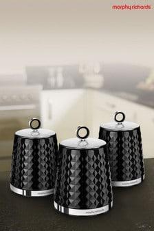 Set of 3 Dimensions Storage Jars by Morphy Richards