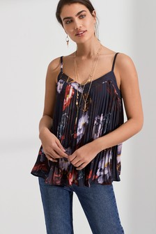 Pleated Camisole