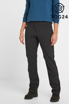 Tog 24 Womens Black Denver Tech Walking Long Trousers