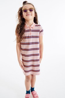 Polo Stripe Dress (3-16yrs)