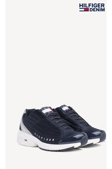 Tommy Jeans Blue Heritage Trainers
