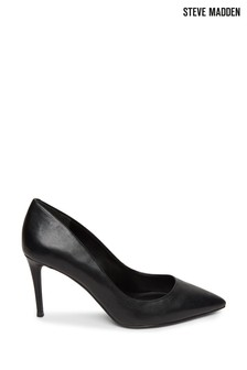 Steve Madden Black Lillie Pumps
