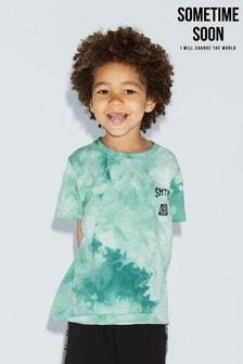 Sometime Soon Green Tie Dye T-Shirt