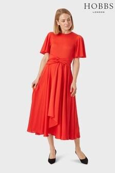 Hobbs Red Leia Dress