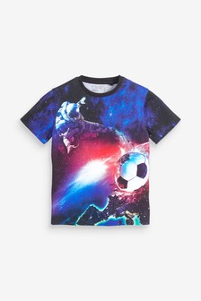Spaceman Football T-Shirt (3-16yrs)