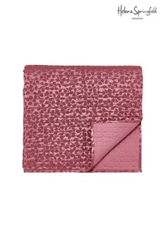 Helena Springfield Cecilia Daisy Jacquard Quilted Throw