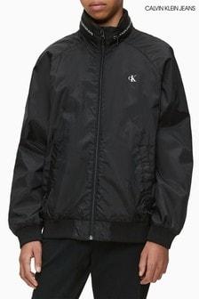 ז'קט בומבר קליל של Calvin Klein דגם Essential בשחור