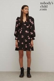 Nobody's Child Hallie Floral Mini Dress