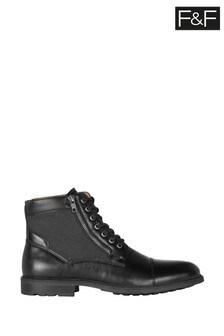 F&F Black Biker Boots
