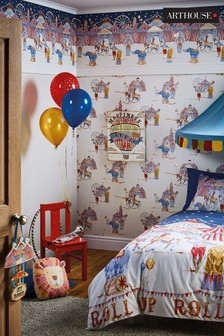 Children's Circus Wallpaper by Arthouse
