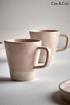 Set of 6 Speckled Mugs