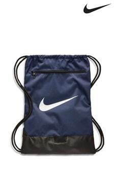 Nike Navy Brasilia Gym Sack