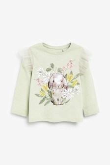Bunny Long Sleeve T-Shirt (3mths-7yrs)