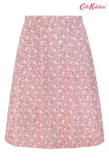 Cath Kidston® Pink Jumping Bunnies Full Skirt