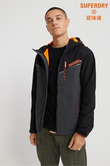 Superdry Printed Hooded Paralex SD Windtrekker Jacket