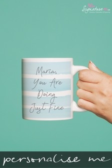 Personalised Quote Mug by Signature Gifts