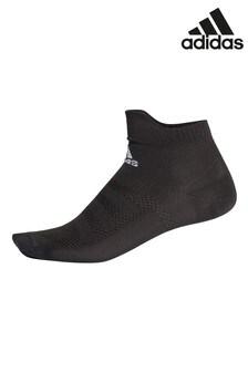 Черные низкие носки adidas Alphaskin