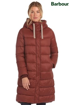 Barbour® Coastal Longline Relaxed Fit Padded Cassins Coat